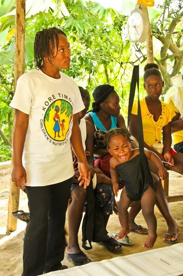 Training & Equipment for Nutrition Workers: Haiti