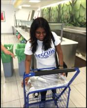 Margarita Rescuing Food