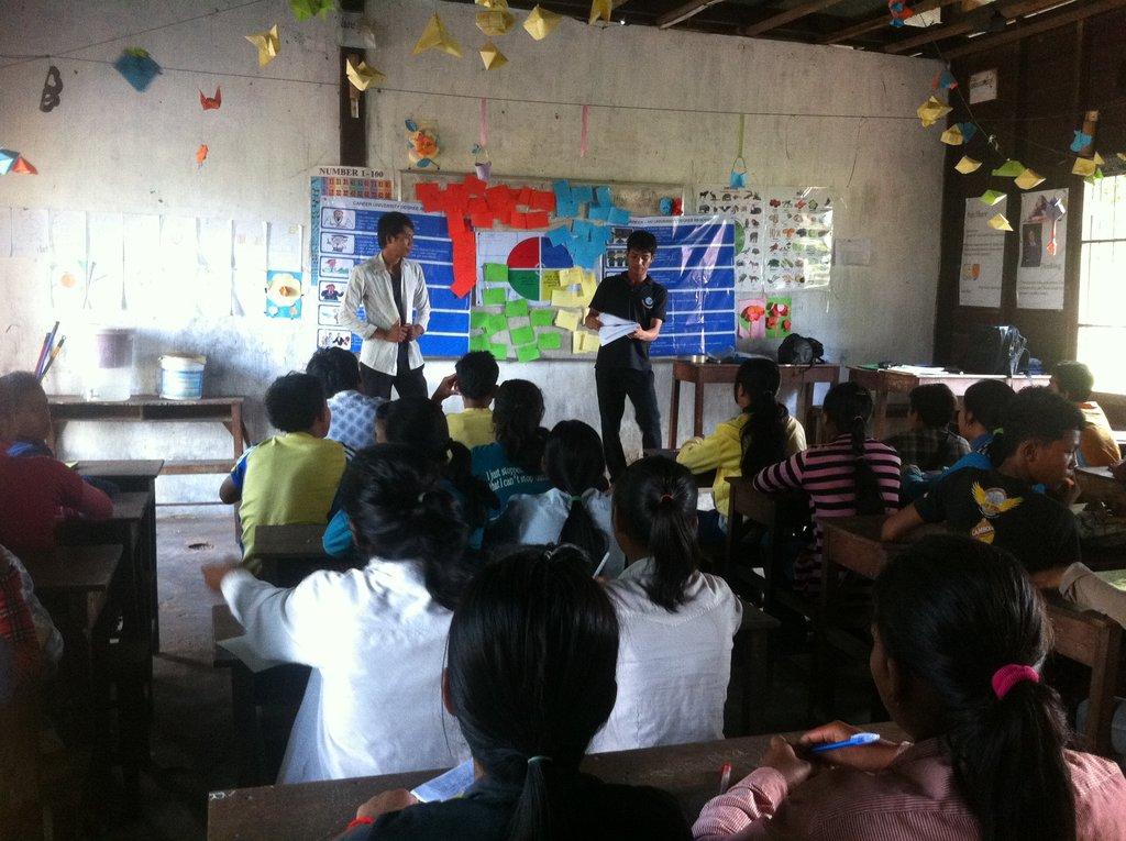 Furnish New English Classrooms
