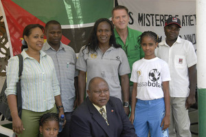 Photo in Malema which include the Mayor of Malema