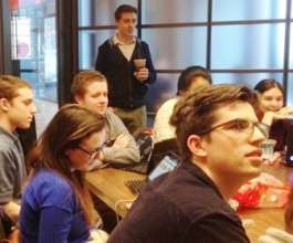 Aspiring entrepreneurs in a JA Academy program