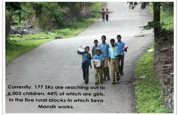 You supported education of 6,003 rural children