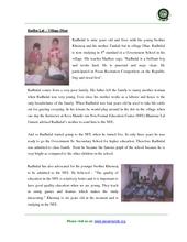 Radhulal gets into Govt. School... (PDF)