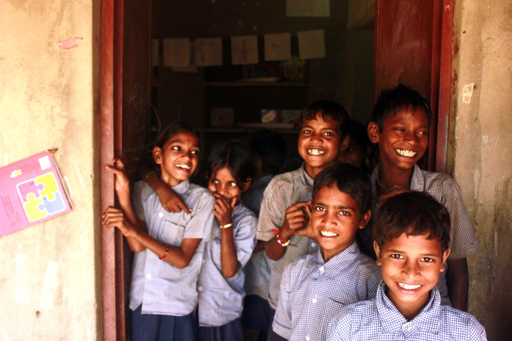 Children at our Non Formal Education Centre