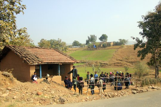 One of the school run by Seva Mandir