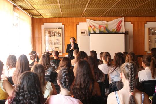 The visit of Mrs Rumyana Kolarova