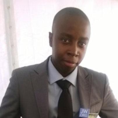 Our new Programme Officer, Lekodi Magombo