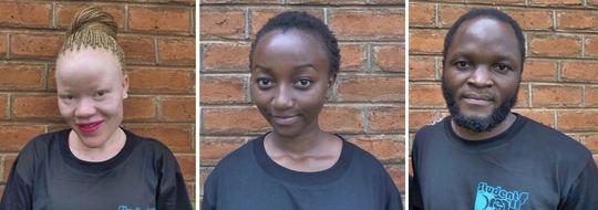 From L to R: Tumeliwa, Madalo, Bright