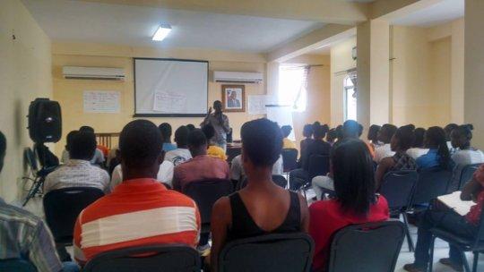 Leadership seminar for youth