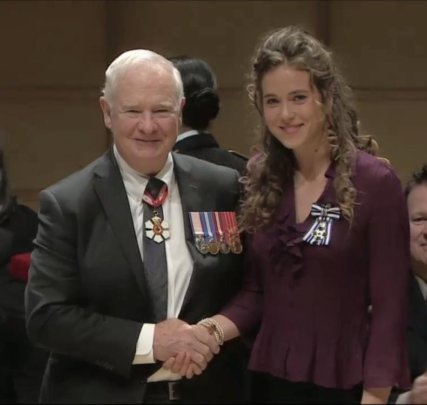 Founder awarded Meritorious Service Cross Medal