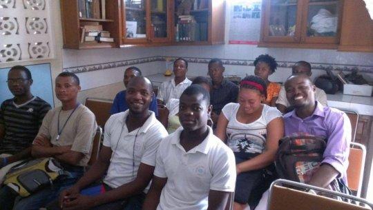 Ocean Marine Institute Training class in session