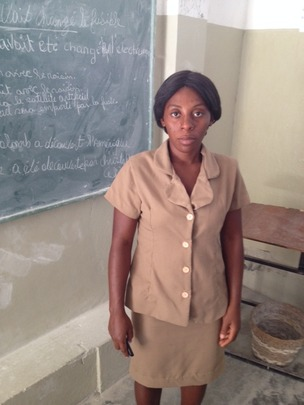Vedette will become a teacher. Thank you!