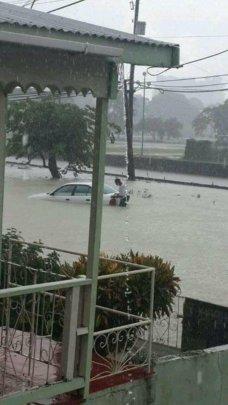 Extreme flooding and mudslides