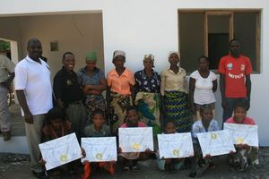 Some new scholarship recipients, from Motaze town.