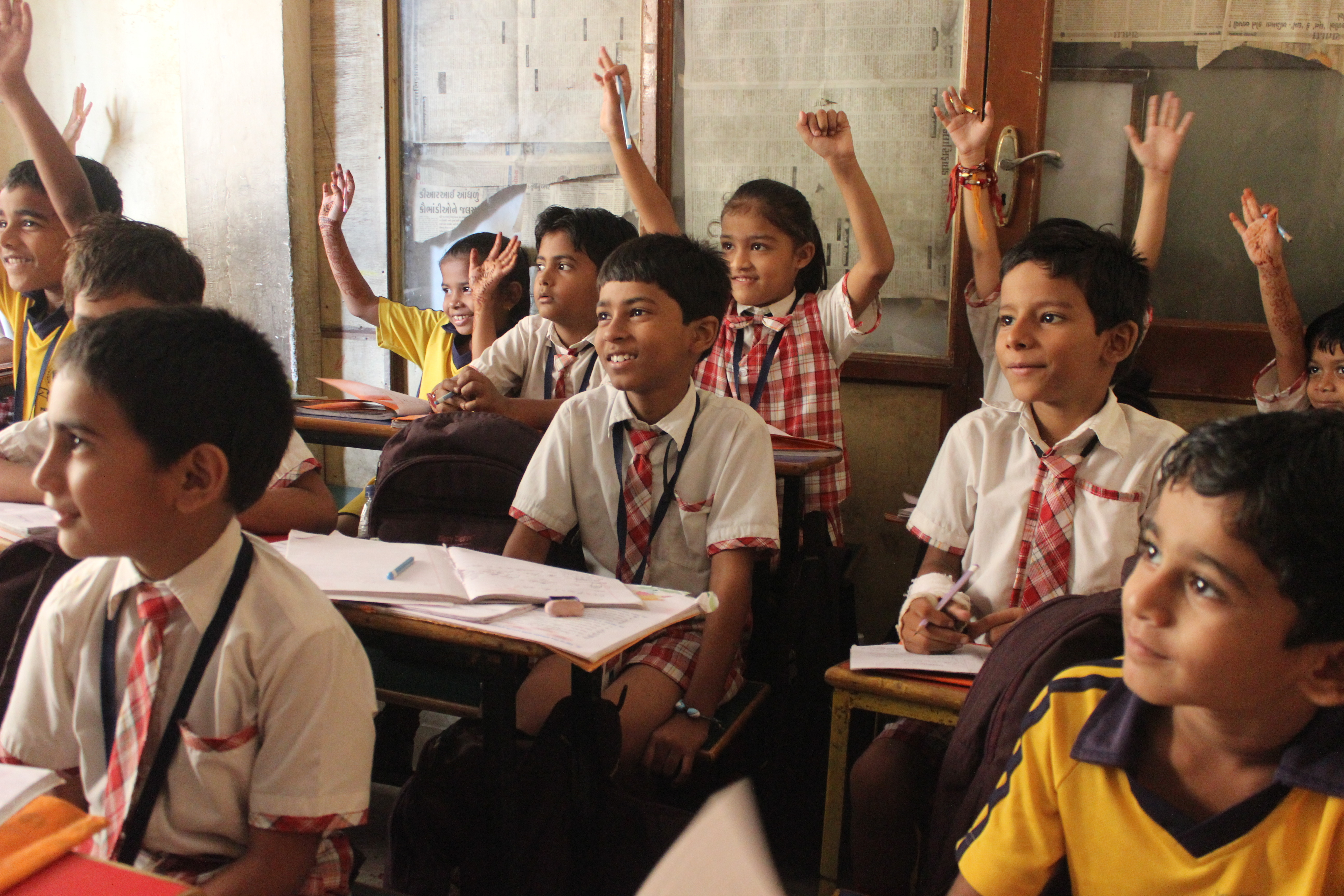 Take 50 poor kids from streets to school in India ...