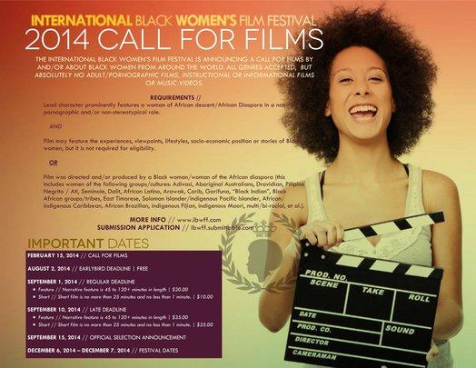 International Black Women's Film Festival Call