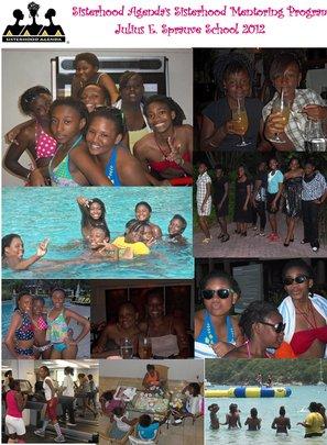Sisterhood Mentoring Photo Collage