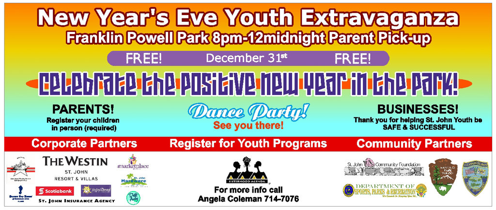 Youth Extravaganza 2012 Banner