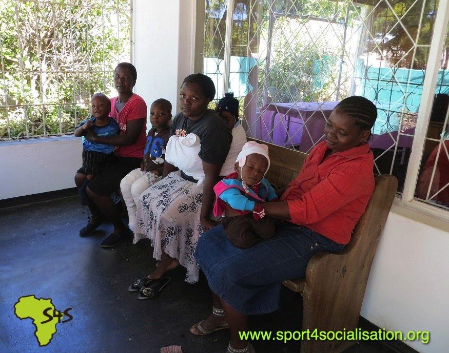 Rehabilitation 260 disabled children in Zimbabwe