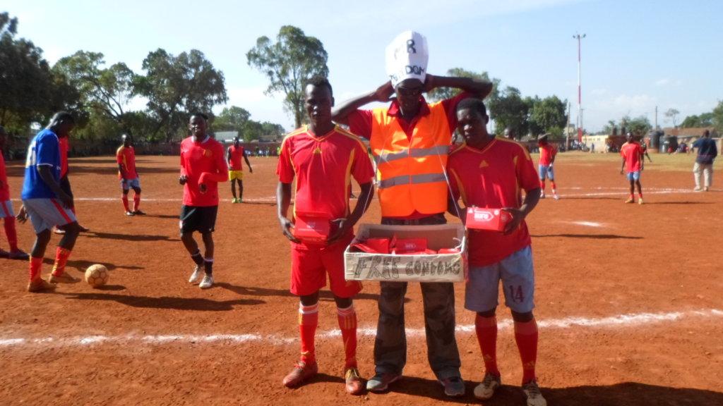 Condoms at the tournament