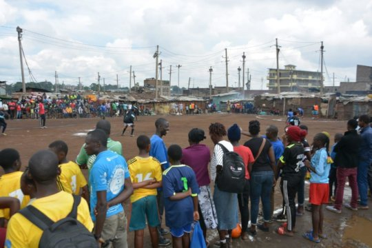 HIV football match