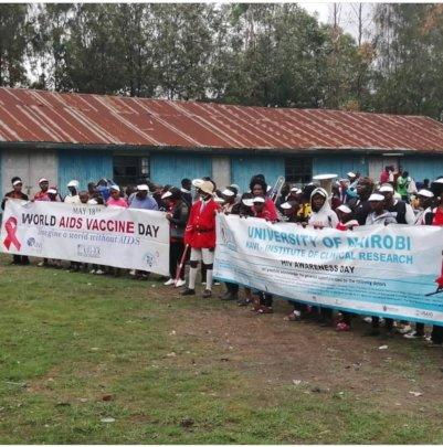 World Aids Vaccine Awareness Procession Walk