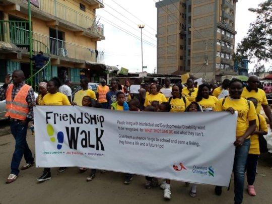 Inclusion Walk