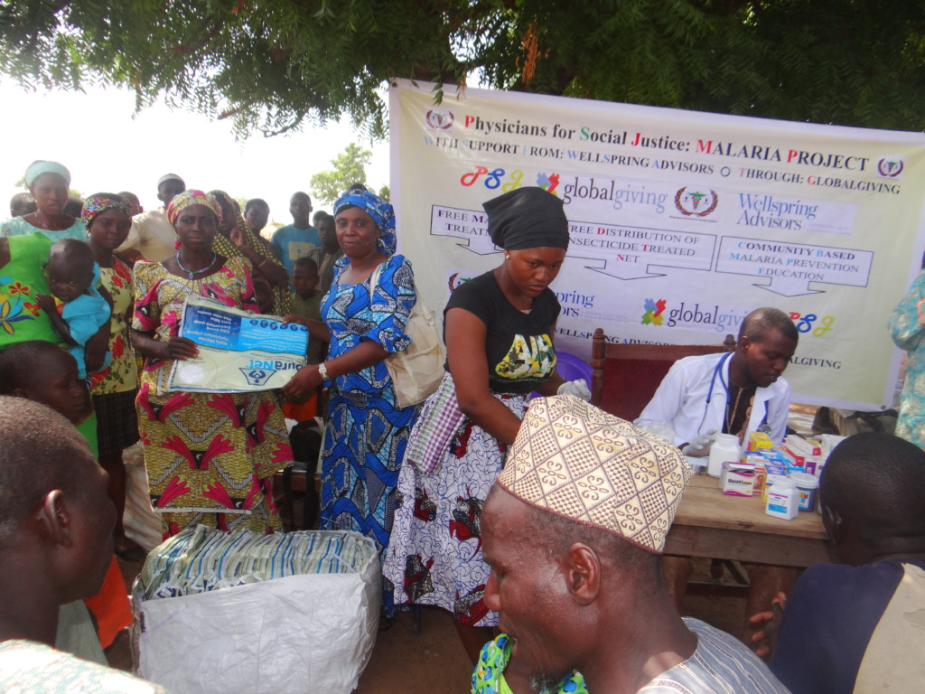 Malaria outreach at Bukkagoma village Kontagora