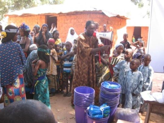 malaria outreach snapshot