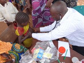 malaria outreach sahonrami