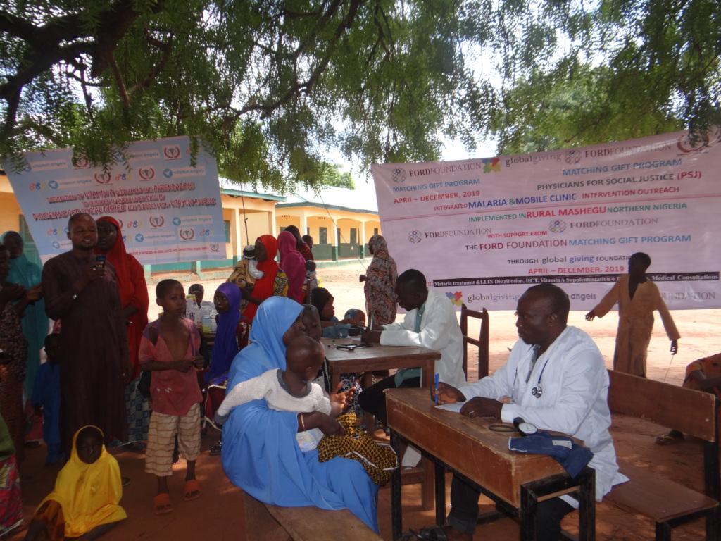Malaria outreach Kaboji