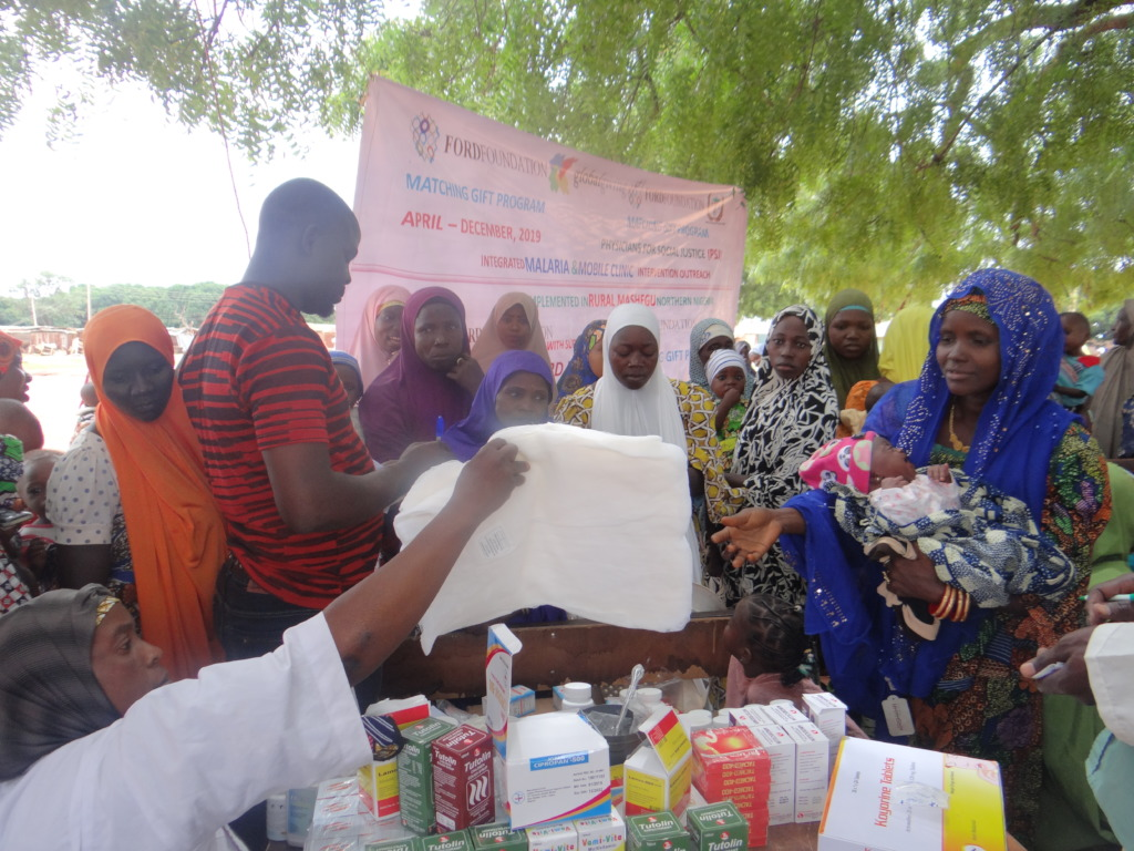 Malaria outreach & LLIN distribution Kaboji
