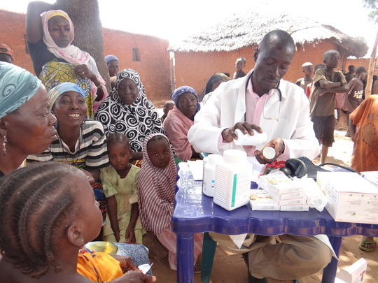 PSJ malaria outreach