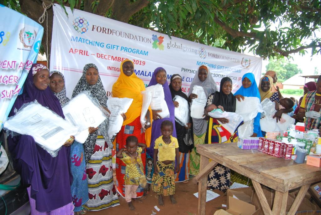 LLIN distribution to pregnant women