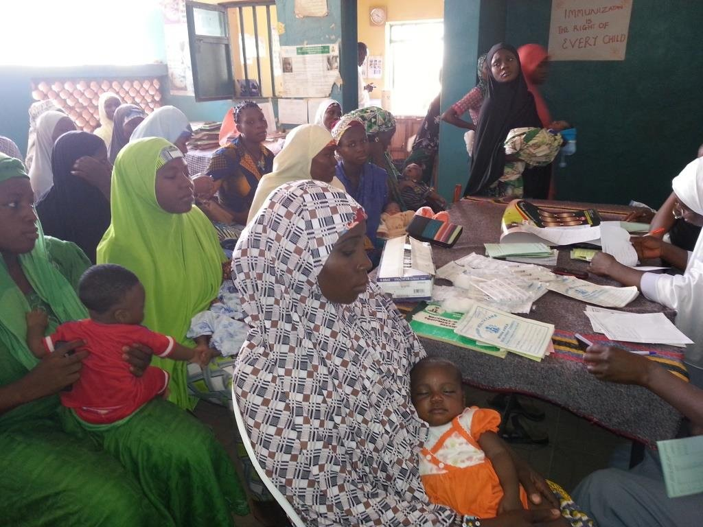 Women receiving malaria prevention messages in HF