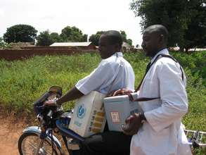 Providing mobile health services to remote areas.