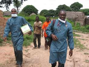PSJ malaria control task force at work in Maiasara