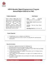 VIDYA_Mumbai_DEP_Annual_Report_201819.pdf (PDF)