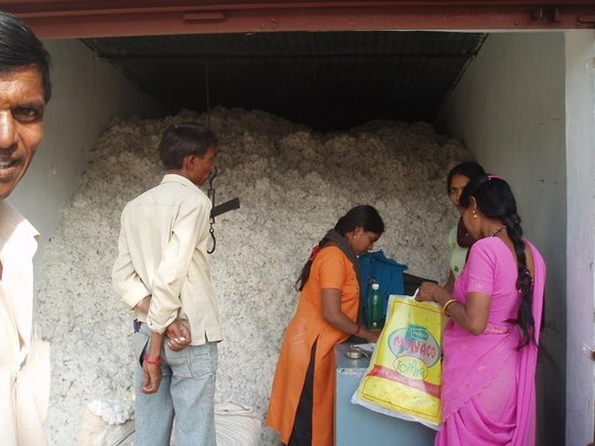 cotton collection centre