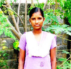 Support 10 underprivilege girls higher education