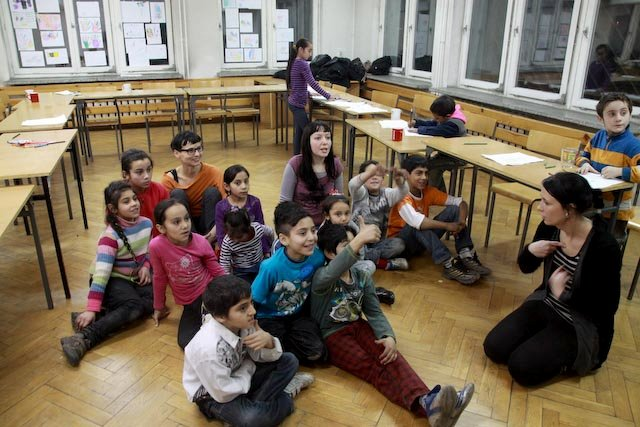 Medical Care for 15 Romanian Roma Schoolchildren