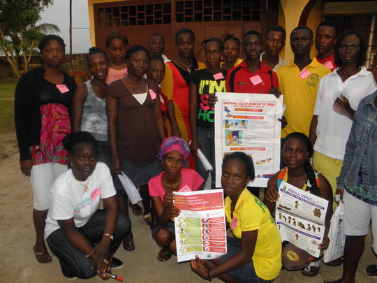 Community Education on Ebola Liberia