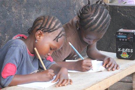 Ebola Closed Schools: Make Radio Learning Possible