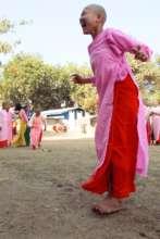 Colorful girls learn assertive communication
