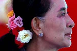 Aung San Suu Kyi - photo Reuters/Jorge Silva