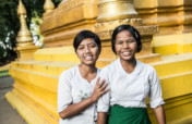 Build a girl leader in Myanmar.