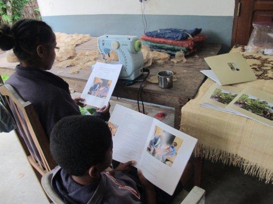 SEPALI artisans enjoy new book by Tim Barclay