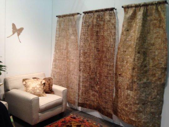Wild Silk Drapes at ADHD Show, NY