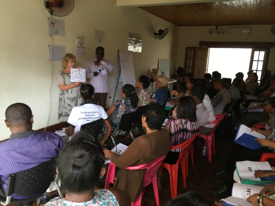 Equipping workers from 15 different organizations