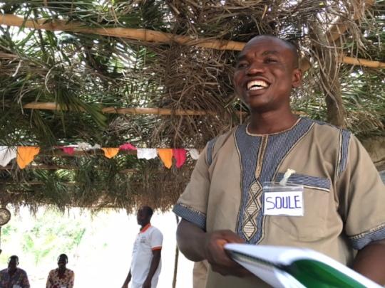 Soule is a skilled training facilitator